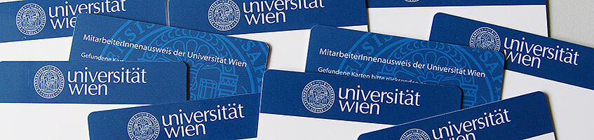 ID-cards of employees of the University of Vienna